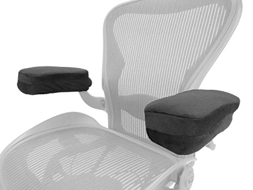 Arm-Eaz Armlehnen Polster fur Burostuhl und Spielstuhl, Memory-Schaum Arbeitsplatz Schreibtischstuhl Armlehnen Kissen fur Ellenbogen Komfort